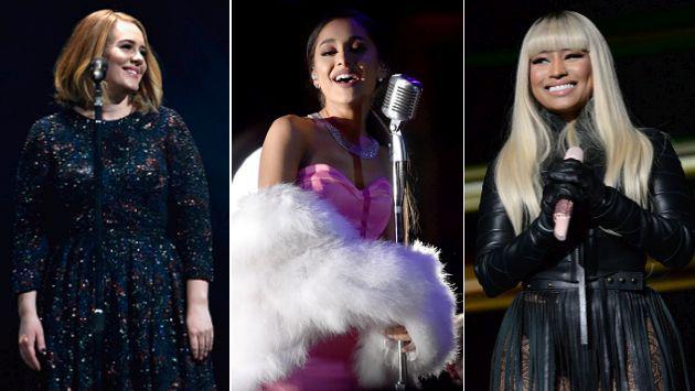 ¡Adele, Ariana Grande y Nicki Minaj entre las personas más influyentes del mundo!