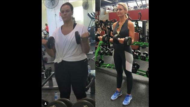 Este es el 'antes y después' más alucinante de Instagram [FOTOS]