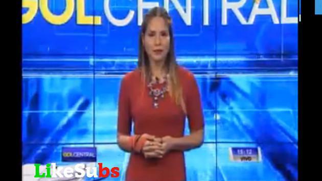 Periodista pensó que la cámara no la enfocaba y se mandó con este sensual baile (VIDEO)