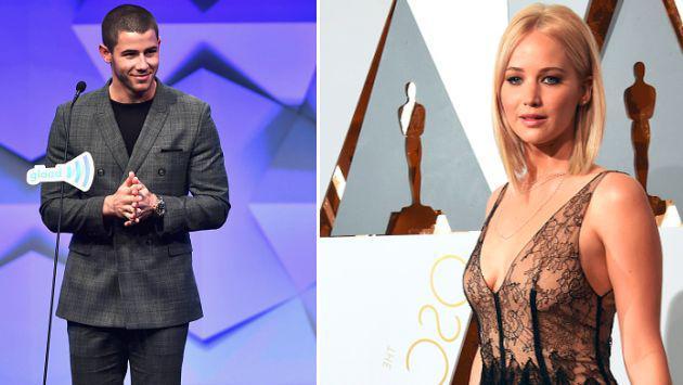 ¡Nick Jonas quiere tener una cita con Jennifer Lawrence!