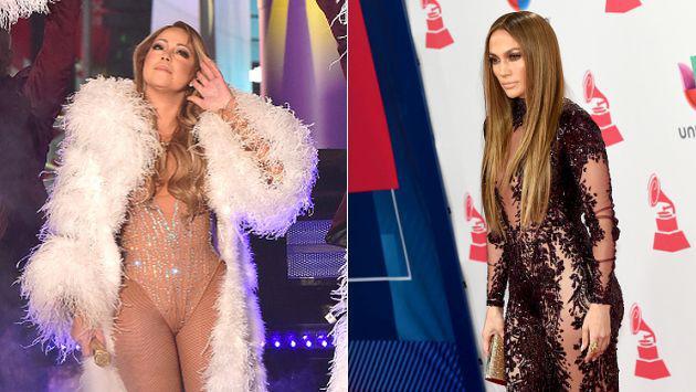 OMG! Jennifer López se burló del show de Mariah Carey [FOTO + VIDEO]