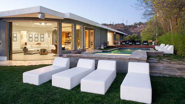 ¡Checa cómo luce la nueva mansión que Joe Jonas adquirió en Hollywood!