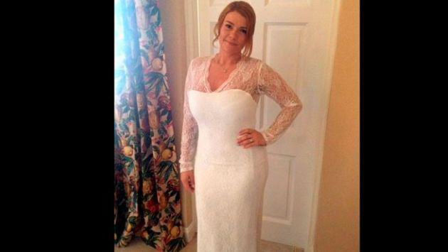 Joven tuvo increíble cambio físico motivada por su vestido de novia [FOTOS]