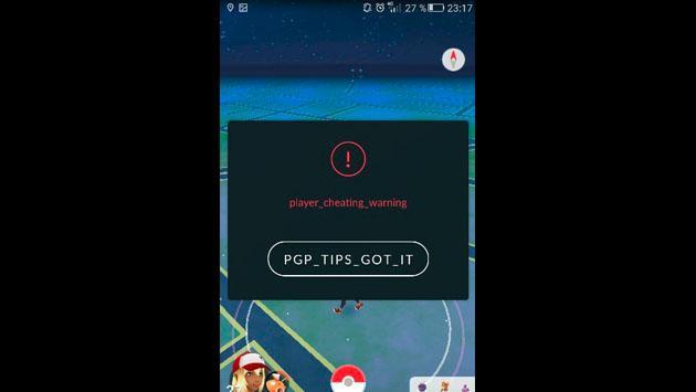 Jugadores de 'Pokémon GO' tiemblan por este mensaje [FOTOS]