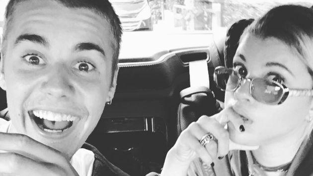 Justin Bieber confirmó su relación con Sofia Richie y amenazó a los que la ofendan [FOTOS]