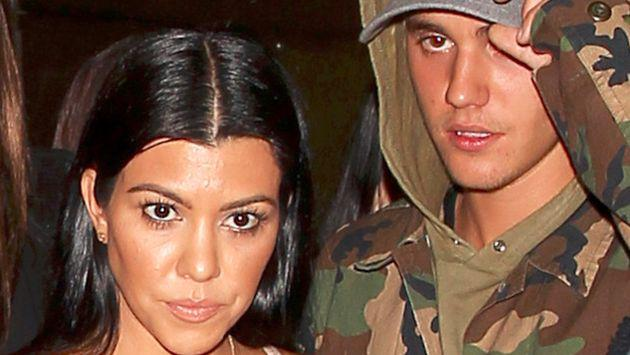 ¿Justin Bieber encontró el amor en Kourtney Kardashian?