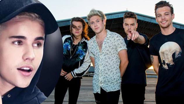 Justin Bieber a One Direction: