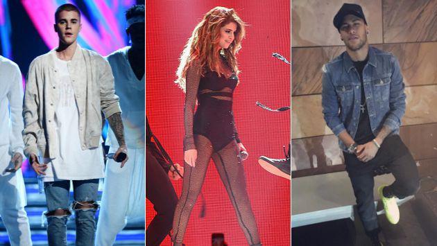 Neymar desiste de conquistar a Selena Gomez por respeto a Justin Bieber