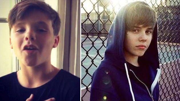 ¿Hijo de David Beckham se convertirá en el próximo Justin Bieber? [VIDEO]