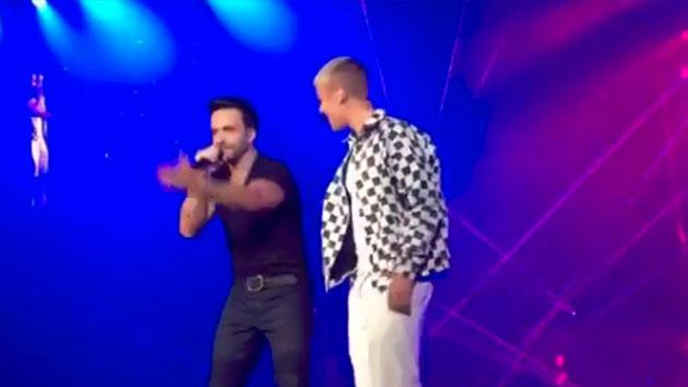 ¡Justin Bieber cantó su remix de 'Despacito' en concierto! [VIDEO]
