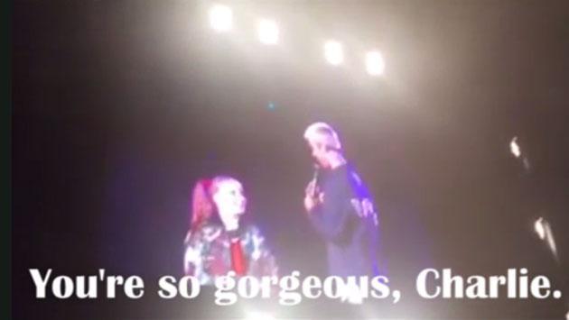 Justin Bieber cumplió el sueño de una fan en concierto en Australia [VIDEO]