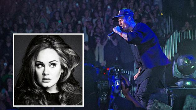 ¿Justin Bieber destronó a Adele?