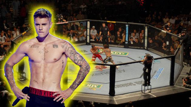 ¿Justin Bieber en la UFC? Mira su habilidad en el combate [VIDEO]
