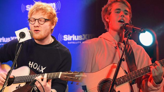 Justin Bieber y Ed Sheeran cantaron a dúo 'Love Yourself', pero…