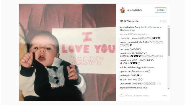 Papá de Justin Bieber muestra al cantante como nunca antes se le ha visto [FOTOS]