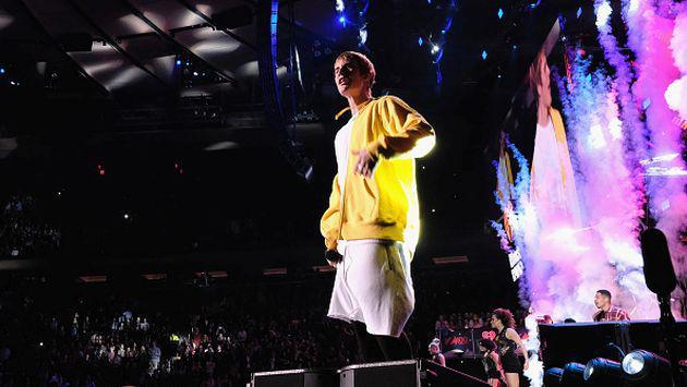 Justin Bieber inició su gira latinoamericana frente a 50 mil fanáticos