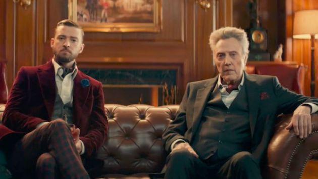 Mira el divertido comercial de Justin Timberlake y Christopher Walken en el Super Bowl