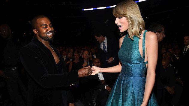 ¡Kanye West fue grabado insultando a Taylor Swift!