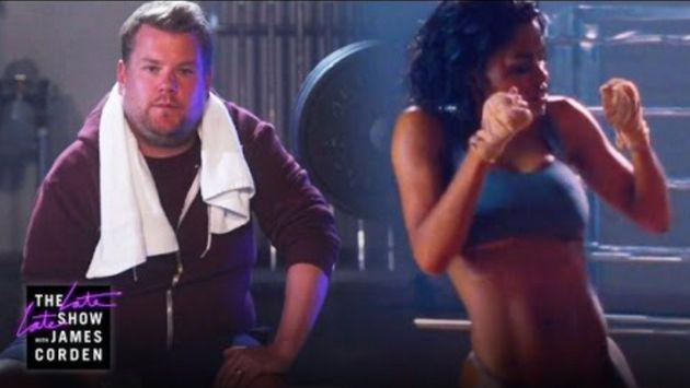 ¡Checa la parodia de James Corden al nuevo video de Kanye West y mátate de risa! [VIDEO]