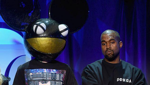 OMG! Kanye West se mete en otra pelea... esta vez con Deadmau5 [FOTOS]