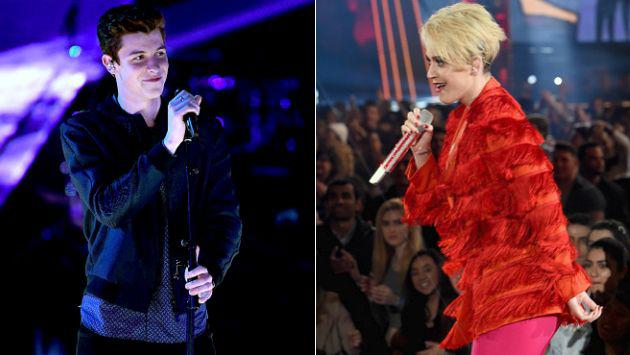 WTF! ¡Katy Perry le tocó el trasero a Shawn Mendes! [VIDEO]