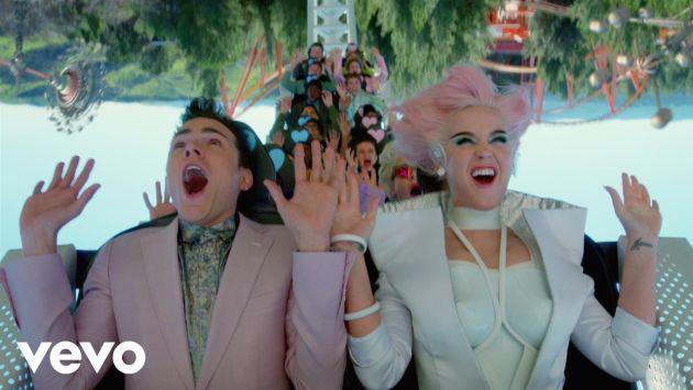 ¡Katy Perry estrenó el videoclip de 'Chained to the Rhythm' y tienes que verlo! [VIDEO]