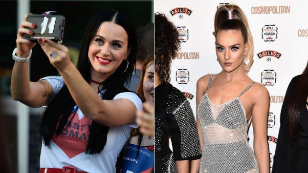 OMG! ¡Perrie Edwards demuestra así ser el clon de Katy Perry! [FOTO]