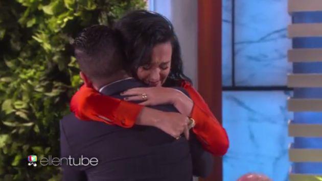 Katy Perry y su conmovedora sorpresa para víctima de atentado de Orlando [VIDEO]