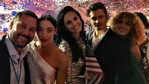 Orlando Bloom demuestra que está totalmente enamorado de Katy Perry [FOTO + VIDEO]
