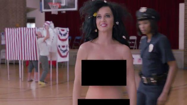 OMG! Katy Perry se desnudó por esta particular razón [FOTO + VIDEO]