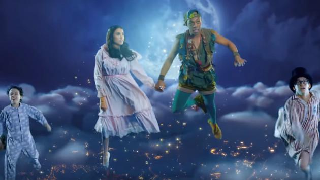 Escucha los hits de Katy Perry con personajes de Peter Pan