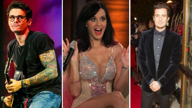 OMG! ¿Katy Perry cambió a John Mayer por Orlando Bloom?
