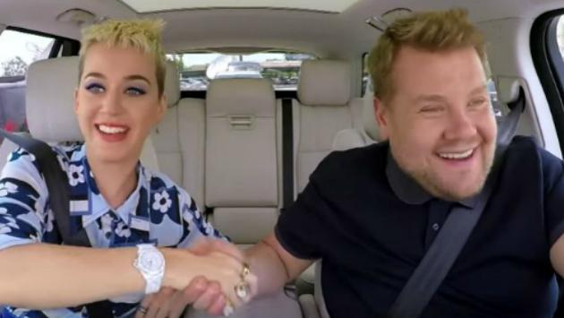 Katy Perry canta junto a James Corden — Carpool Karaoke