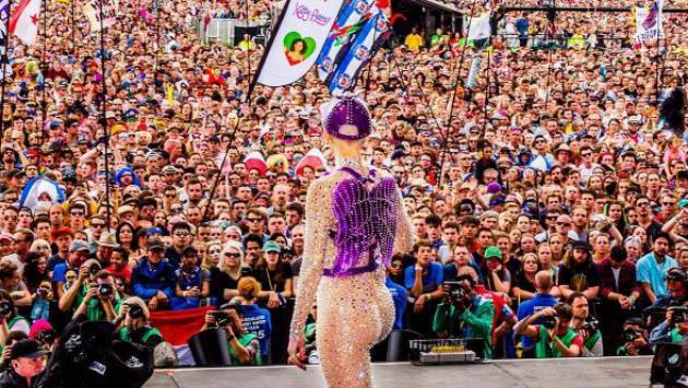 ¡Así la pasó Katy Perry en el 'Festival Glastonbury'! [FOTOS]