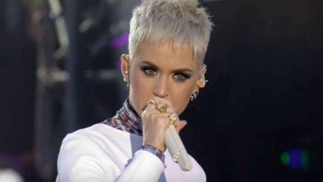 ¿Lo viste? El vestuario de Katy Perry durante 'One Love Manchester' tenía fotos de las víctimas [FOTOS Y VIDEO]