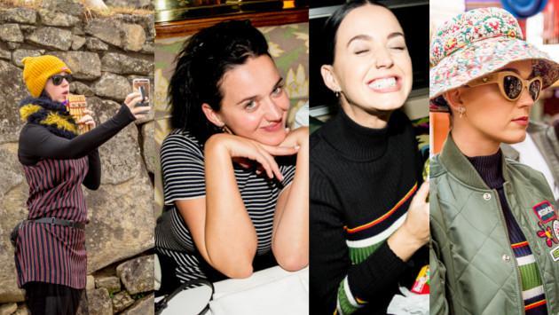 Katy Perry y fotos inéditas de su visita a Machu Picchu