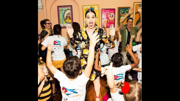 ¡Katy Perry se enamoró de Cuba! Mira las fotos de su visita