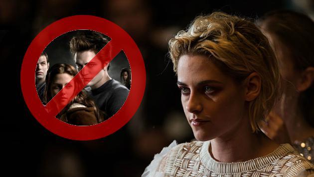 A Kristen Stewart le volvieron a preguntar por 'Crepúsculo' y su reacción fue...
