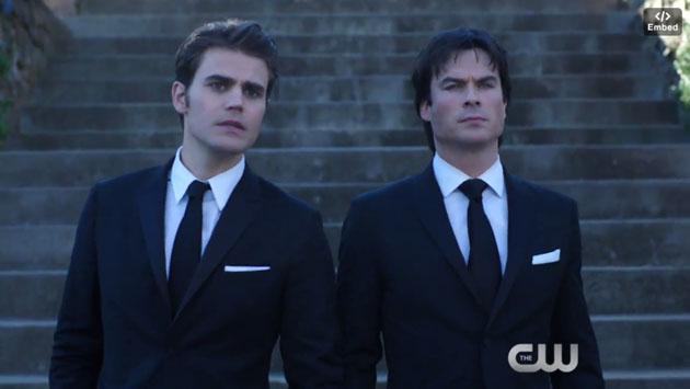 La boda de Stefan y Caroline  en 'The Vampire Diaries' por fin se dio, pero no todo es hermoso [VIDEO]