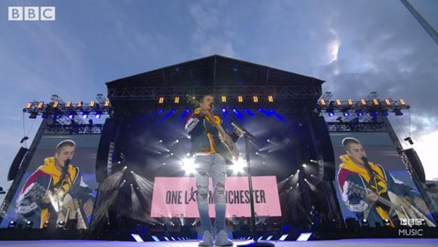 La canción y el discurso de Justin Bieber en el concierto One Love Manchester [VIDEO]