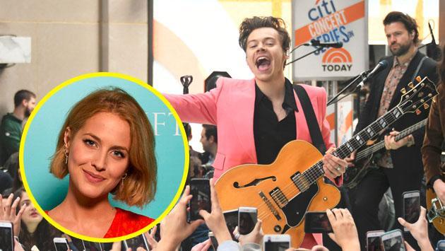 La novia de Harry Styles desata un 'fuego cruzado' entre fans de One Direction
