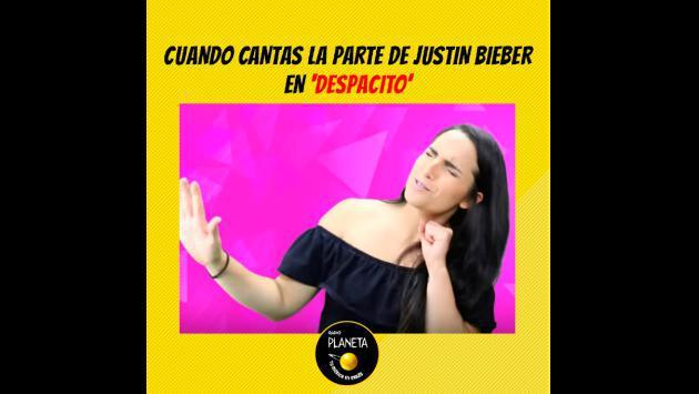 Mira los memes de Mafe y su reacción al escuchar 'Despacito' por Justin Bieber
