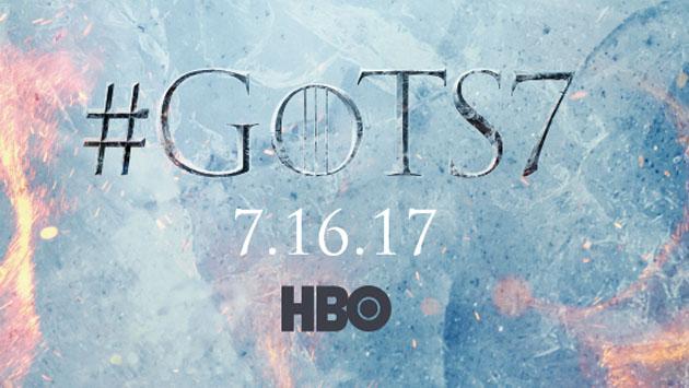 La temporada 7 de 'Game of Thrones' ya tiene póster oficial y fecha de estreno