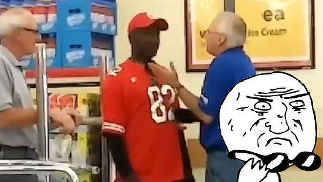 Mira todo lo que escondió en sus pantalones este ladrón de supermercados [VIDEO]