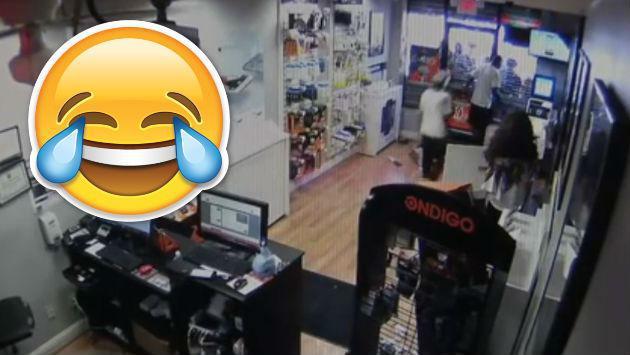¡Estos ladrones pasaron de generar miedo a risas en solo minutos! [VIDEO]