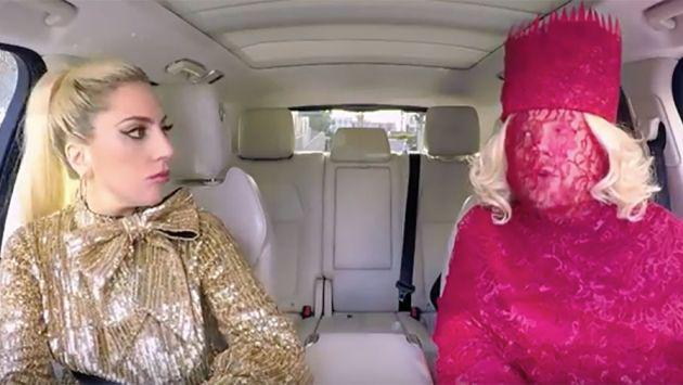 Lady Gaga se lució en un espectacular 'Carpool Karaoke'. ¡Mírala! [VIDEO]