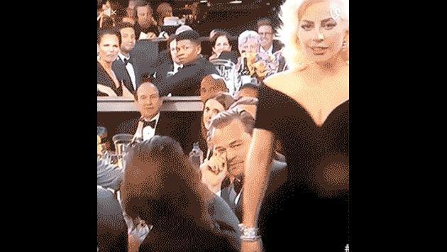 Golden Globes: ¿Qué pasó entre Lady Gaga y Leonardo DiCaprio durante la gala?
