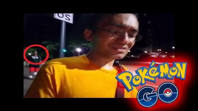 Él hacía streaming de 'Pokémon GO' y todos en Twitch vieron cómo le robaron [VIDEO]