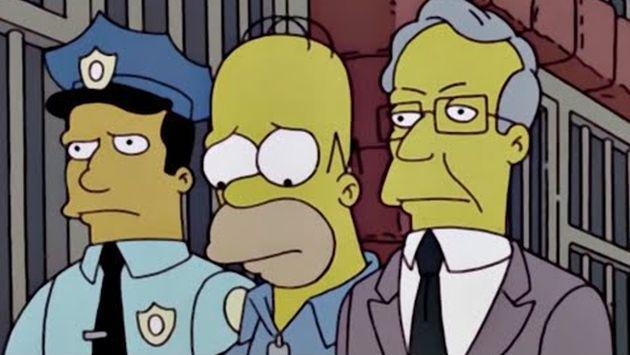 ¡Los Simpson y Making a Murderer juntos! [VIDEO]