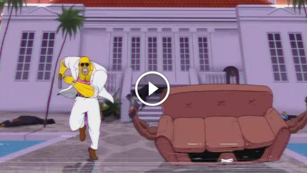 ¡La intro de Los Simpson con estilo ochentero causa sensación en Youtube! [VIDEO]